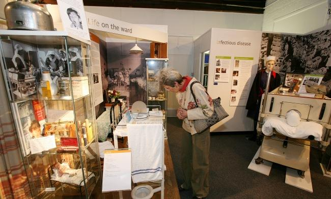 explore the medical museum in reading