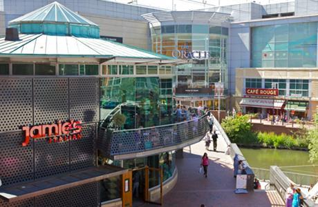 Oracle shopping centre not far from Hillingdon prince hotel