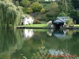 river thames in Reading, UK