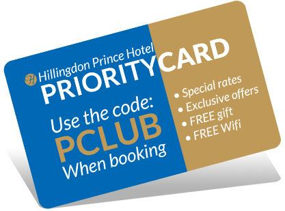 hillingdon prince priority card