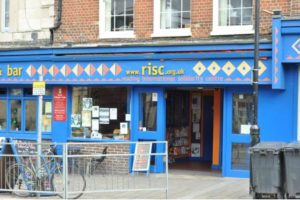 outside view of risc shop in Reading