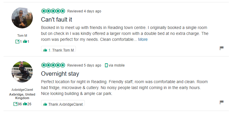 tripadvisor reviews for hillingdon prince hotel in Reading